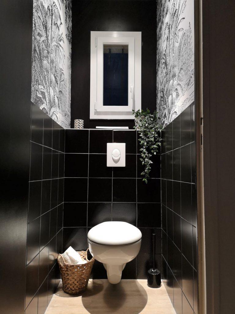 Idee Papier Peint Wc rénovation des wc avec scenolia ⋆ atelier de tendances