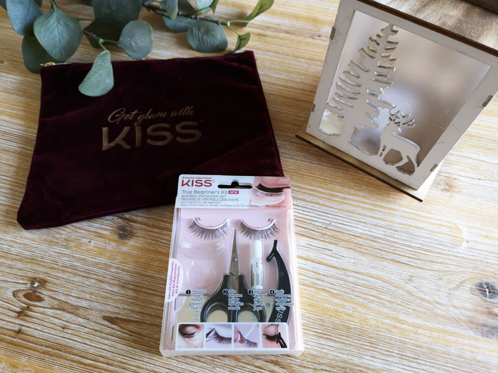 pose de faux-cils kiss