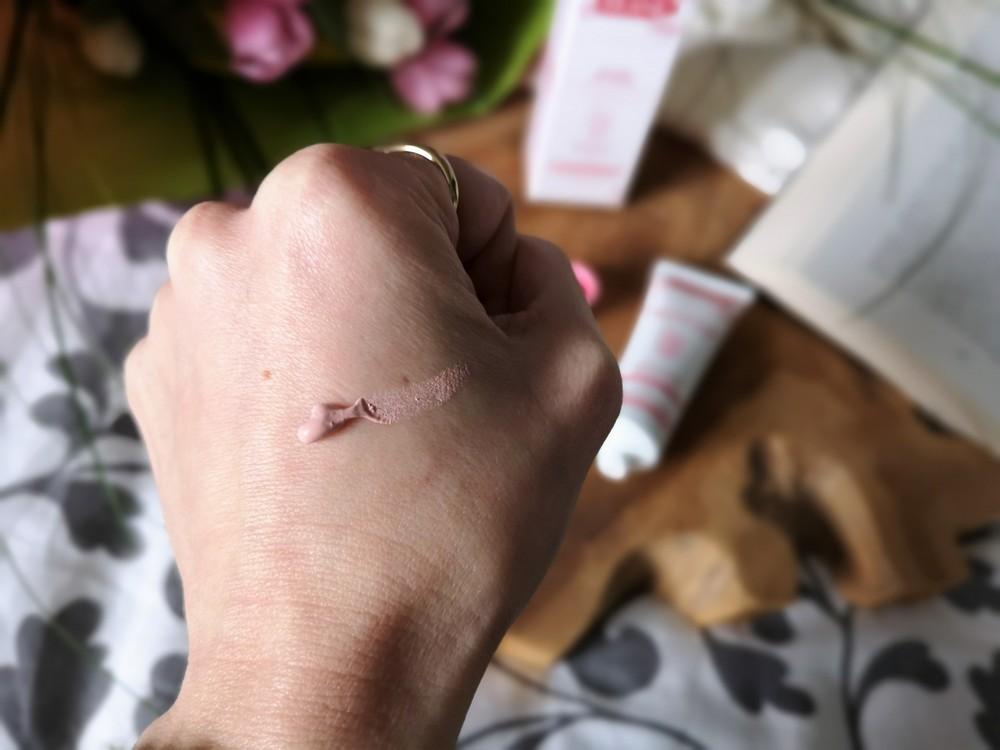 Masque rose granité bio Akane: mon test