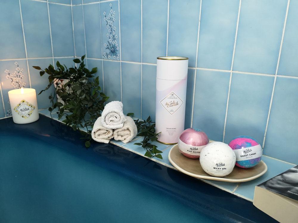 Bath Bombs My Jolie Candle: un bijou dans mon bain!