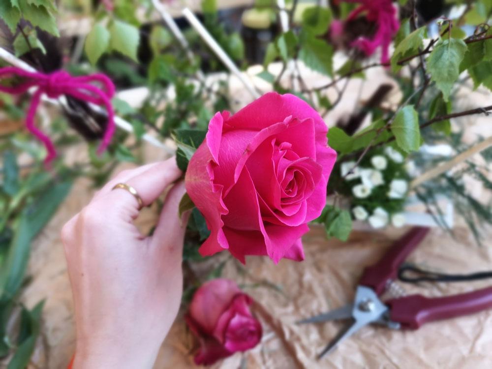 cours art floral N°13 Auxerre