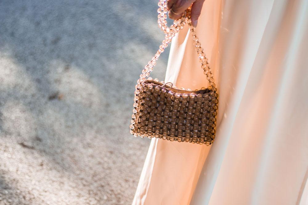 sac perlé
