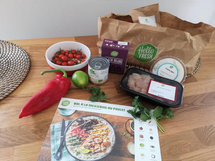 Hellofresh: la box pour cuisiner sainement
