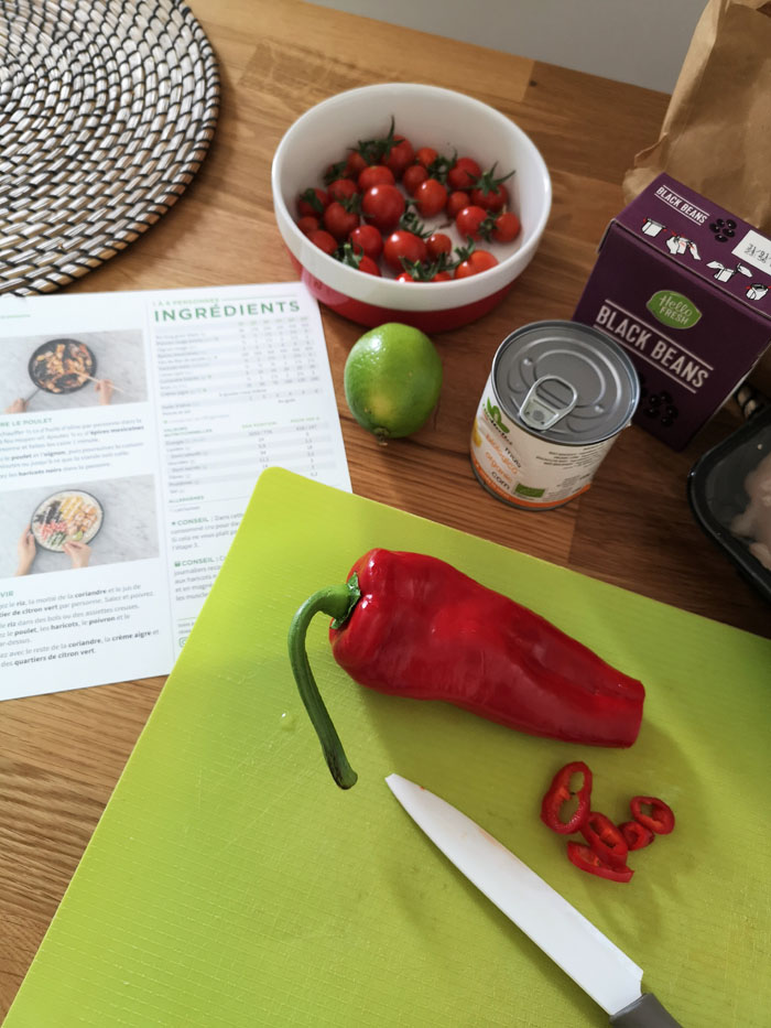recette de cuisine box hellofresh
