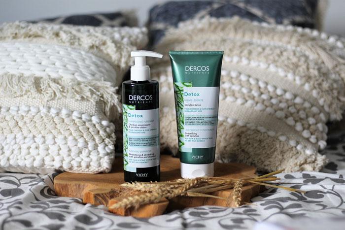 Vichy Dercos Nutrients Detox: Fini les cheveux gras!