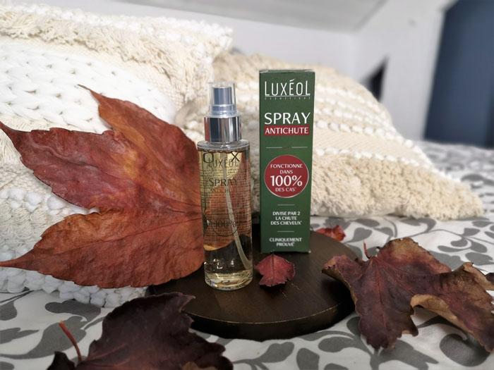 Spray antichute Luxéol: Mon avis