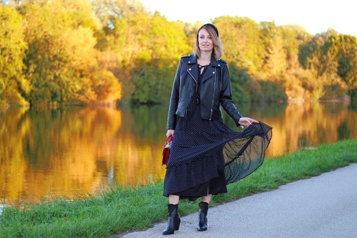 style bohème en automne
