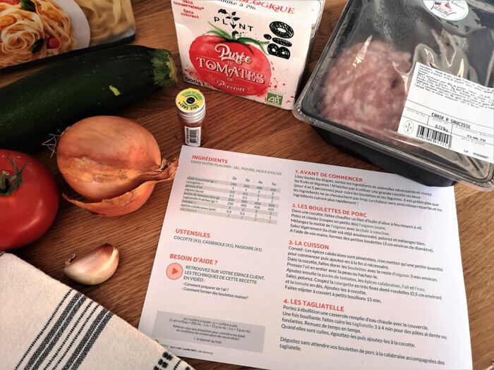 recette de cuisine box Quitoque