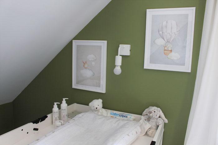 décoration murale chambre de bébé Desenio