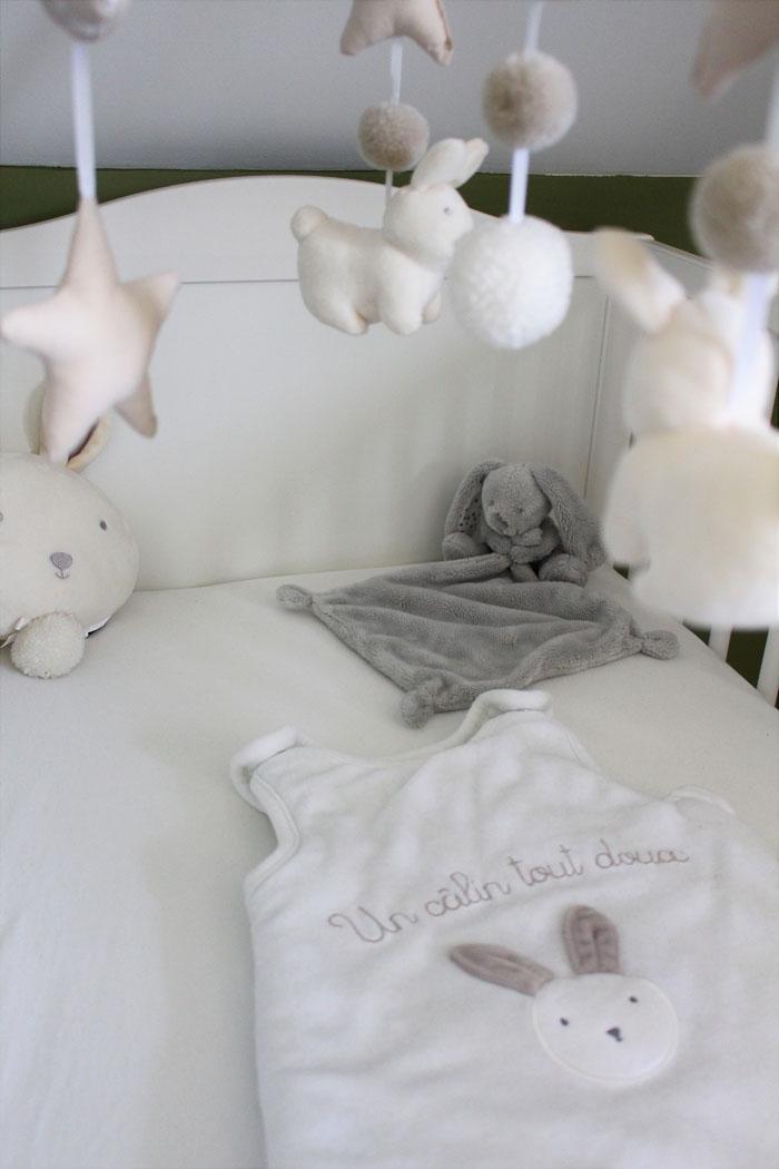 décoration chambre bébé thème lapin