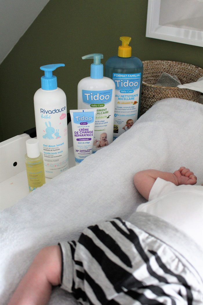 indispensables jeune maman cosmétiques bébé bio tidoo rivadouce