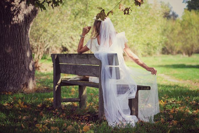 Mariage bohème et fleurs séchées