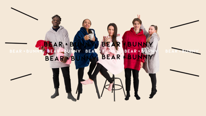 En mode cocooning avec Bear and Bunny!