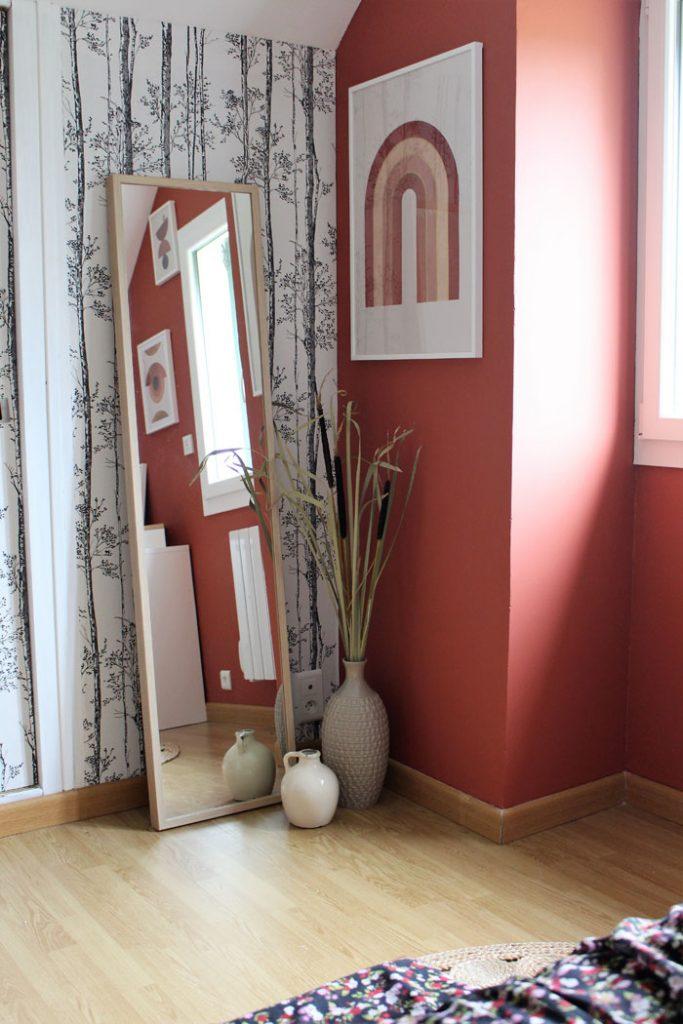 chambre terracotta affiches desenio